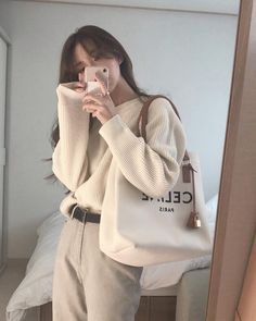 K Fashion Casual, Look Fashion, Daily Fashion, Fashion Outfits, Korean Casual Outfits, Cute Casual Outfits, Pretty Outfits, Korean Girl Fashion, Ulzzang Fashion