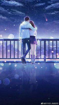 Couple Anime Manga, Couples Anime, Anime Cupples, Romantic Anime Couples, Anime Couples Drawings, Cute Couples, Otaku Anime, Anime Couples Hugging, Anime Angel