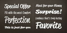 Check out the Reklame Script font at Fontspring. Reklame Script is a brush script font family. This typeface has five styles  and was published by HVD Fonts.