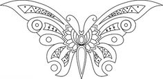 Modern Butterfly by 'Playingwithbrushes', via Flickr