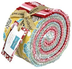 Polka Dot Stitches Jelly Roll from Missouri Star Quilt Co