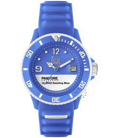 ICE Pantone Universe Collection Dazzling Blue Rubber Strap Η τιμή μας: 89€ http://www.oroloi.gr/product_info.php?products_id=34503