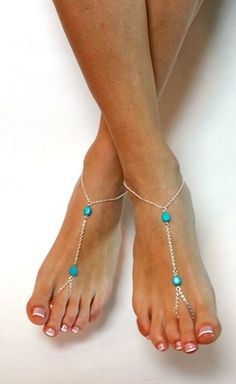 and silver chained barefoot sandals minimalist jewelry foot jewelry anklet slave . Blue and silver chained barefoot sandals minimalist jewelry foot jewelry anklet slave anklet aqua sandals something blue bridal anklet Ankle Jewelry, Ankle Bracelets, Jewelry Rings, Jewellery, Beaded Anklets, Beaded Jewelry, Something Blue Bridal, Crochet Barefoot Sandals, Slave Bracelet