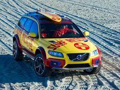 Volvo XC70 Surf-Rescue Vehicle concept...