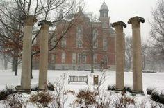 DePauw University #FLVS #campus #snow