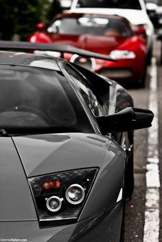 Lamborghini and Bugatti