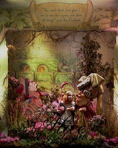 Floral fun - Alice In Wonderland In Chicago