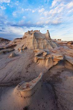 Mudstone Formation ~ Bisti Wilderness, New Mexico