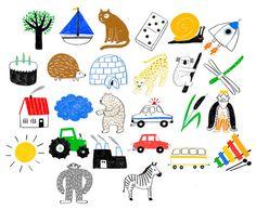 MARIANNE DUBUC illustration: a b c ...