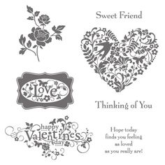You Are Loved Clear-Mount Stamp Set - by Stampin' Up!