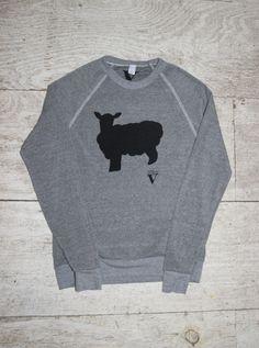 Friends Not Fashion Sweatshirt in Grey - VauteCouture