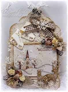 Cards made by Chantal: Winter Wonderland - Duymelot challenge februari