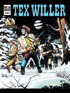 Tex Willer -lehti no 14/2013. #egmont #sarjakuva #sarjis #sarjakuvalehti