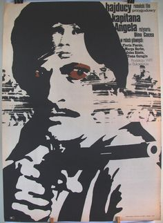 Poster  Romanian 1970s film  The Outlaws of Captain by artwardrobe, $22.50