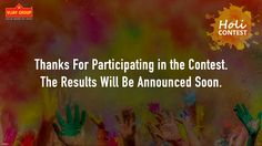 We appreciate the participation and soon the results will be declared. #ContestAlert #Contest