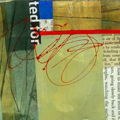 "collage journeys: 4""x4"" Jane Davies"