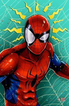 Marvel Fan Art, Marvel Heroes, Marvel Comics, Ms Marvel, Captain Marvel, Spiderman Art, Amazing Spiderman, Spider Man Caricatura, Wolverine Art