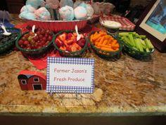 Farm Party Food