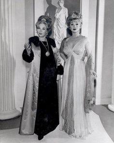 Ann Sothern and close friend Lucille Ball