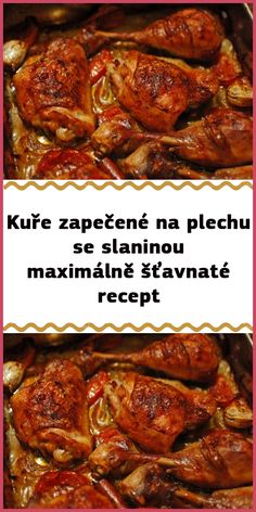 Hungarian Recipes, Pot Roast, Chicken Wings, Poultry, Food And Drink, Cooking Recipes, Beef, Ethnic Recipes, Carne Asada