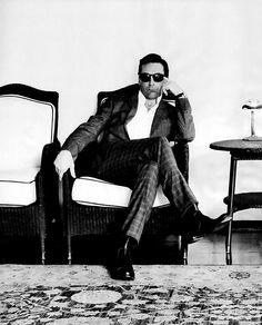 don drapper Jon Hamm suit black white fashion style
