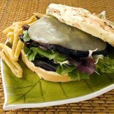 Portobello Mushroom Burgers