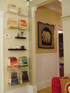 Floating Bookshelves Found Them On Amazon