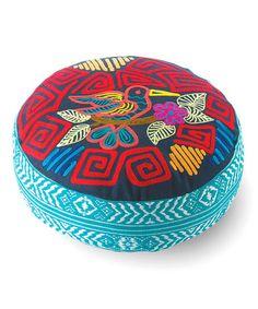 Look at this #zulilyfind! Bird Mola Floor Cushion #zulilyfinds