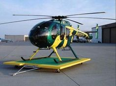MCDONNELL DOUGLAS 600N Helicopter