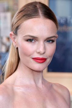Get Kate Bosworth's sleek, straight hair with these expert tips: