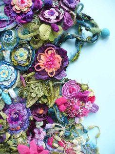 Elena Fiore bijoux textiles