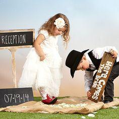 Western Wedding: Kids' Apparel