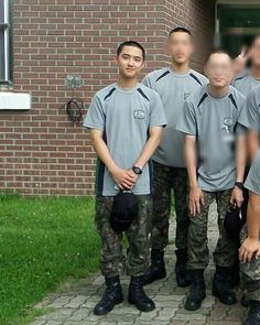 D.O in Military Service Chanbaek, Chansoo, Exo Ot12, Baekhyun Chanyeol, Jo Eun Hee, Luhan And Kris, Jungkook Selca, Exo Korean, Do Kyung Soo