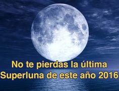 ESTA NOCHE !!!!! Esta noche hay que mirar al cielo. La tercera Superluna del año y la lluvia de estrellas de las Gemínidas ofrecerán un espectáculo astronómico impresionante e imperdible este 14 de diciembre. Se trata de la última Luna gigante del año 2016.  Una Superluna ocurre cuando hay Luna llena y el satélite terrestre atraviesa el punto de su órbita más cercano al centro de la Tierra. La órbita de la Luna es elíptica por eso hay momentos en que está más o menos cerca del planeta. El…