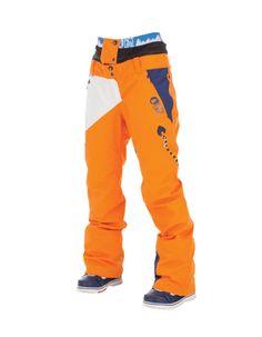 Picture Organic Clothing Winter 2015 , Women's Snowboard/Ski Pants, Feeling 2 Orange | f riders inc