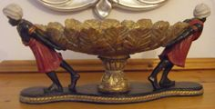 Antique / Art Deco style Decorative Blackamoor Compote/Fruit bowl/Centrepiece  | eBay