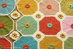 crochet / beautiful blanket
