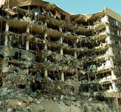 The Oklahoma City bombing was a terrorist bomb attack on the Alfred P. Murrah Federal Building in downtown Oklahoma City on April 19, 1995.