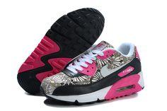 Black Pink Nike Air Max 90 Liberty Women s Shoes Nike Tn Pas Cher 5a9750db8