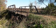 Rattlesnake Creek Bridge in Cuming County, Nebraska.