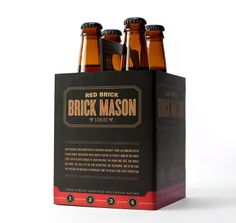 Red Brick's Brick Mason Series Packaging