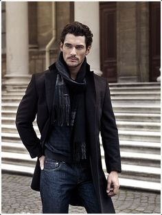40 So Stylish Winter Scarfs For Men to Try this Year