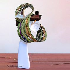 High floral design - form and composition ~ Artist Fabio Reyes
