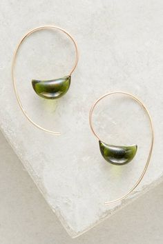 Jess Panza Glacial Threader Earrings