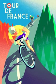 dsgn-me:  Tour de France (by Jeremy Depuydt) DESIGN STORY:  Tumblr   Twitter   Facebook   Google+   Keep reading