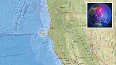 Ein Erdbeben der Stärke 5.7 erschütterte am Freitag Nordkalifornien im Pazifischen Ozean, so die europäische Erdbebenwarte EMSC. Das Beben waren sehr flach, was die Auswirkungen verstärkte. Nach er…