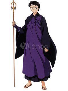 InuYasha Miroku Halloween Cosplay Costume