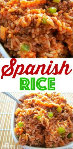 My Mom's Spanish Rice recipe. It's my absolute favorite (and easy) recipe. So good and I make it all the time!