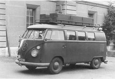 Swiss Army Bus in Service 1964