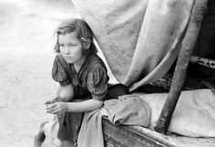 Migrant child, near Harlingen, Texas, 1939
